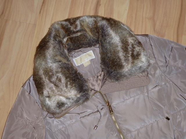 edler michael kors mantel daunenmantel coat jacke beige. Black Bedroom Furniture Sets. Home Design Ideas