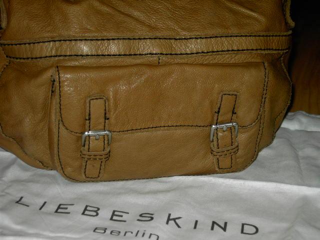 original liebeskind berlin elizabeth tasche handtasche leder mud braun neu ebay. Black Bedroom Furniture Sets. Home Design Ideas